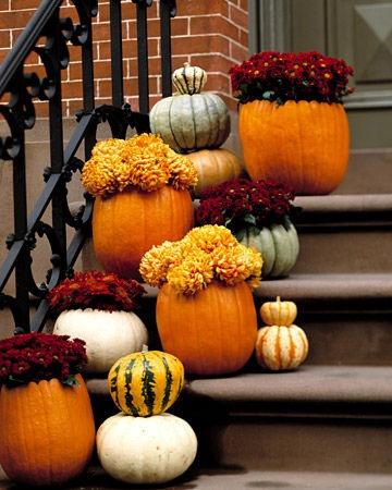 ideas decoracin calabazas haloween