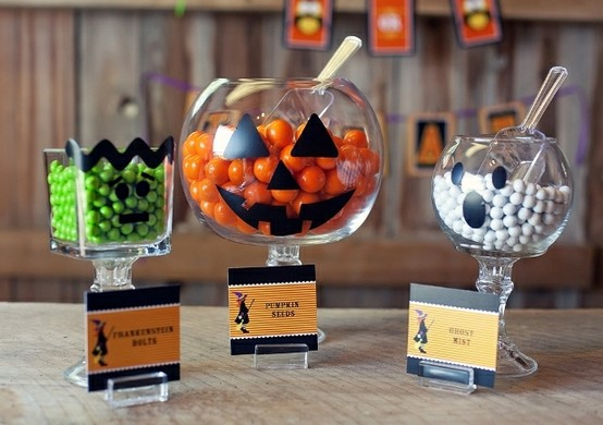 Dulces y cake pops Haloween