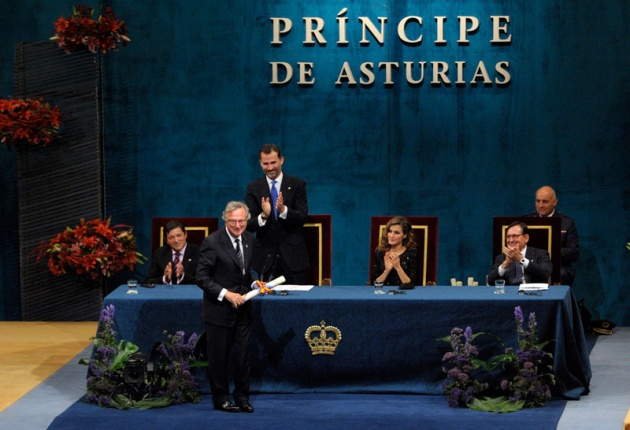 Ceremonia Príncipes de Asturias
