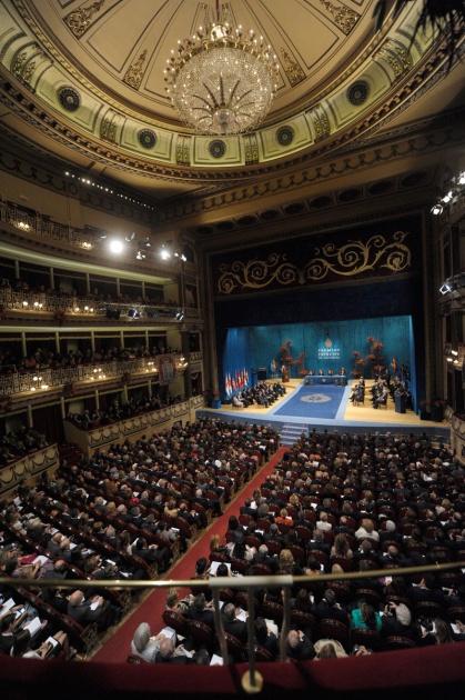 Ceremonia entrega premios príncipe de asturias