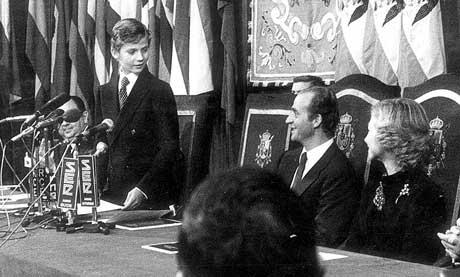 Príncipe Felipe en su primera entrega