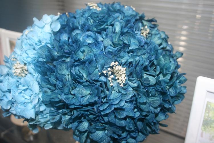 Hortensias Azules para Bodas