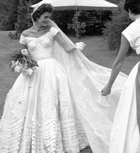 bodas históricas; jackie kennedy onassis