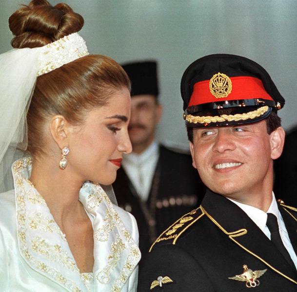 Boda Abdala II y Rania de Jordania