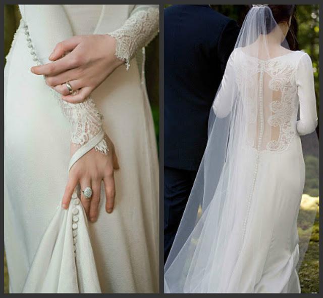 Vestido de novia saga crepusculo