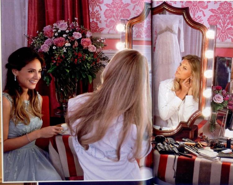 Charisse y Tamara Falcó momentos antes de la boda