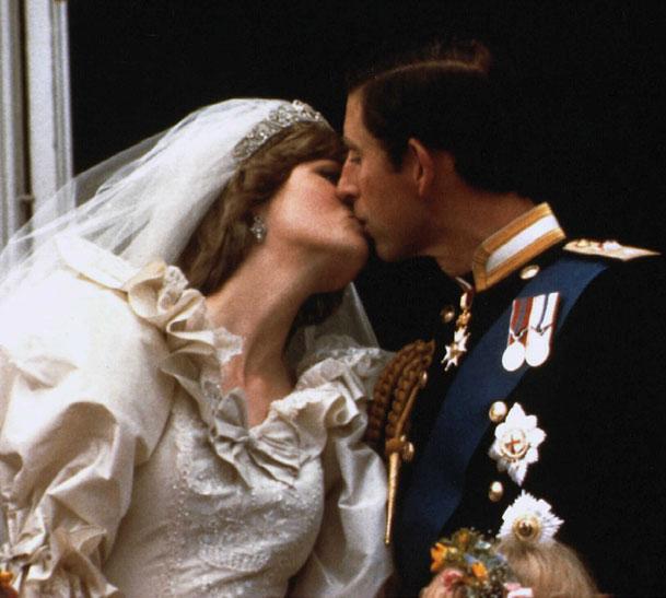 Boda Carlos y Diana de Gales
