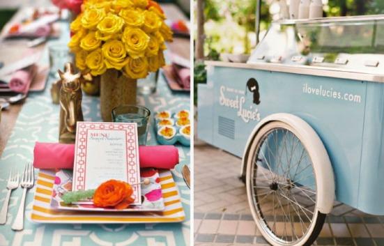 carrito helados idea para boda y comuniones