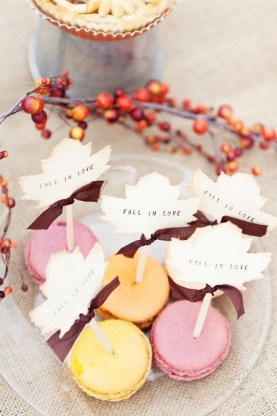 Fall in love Macarrons Bodas