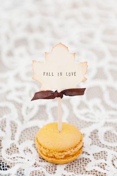Fall in love Macarrons Bodas