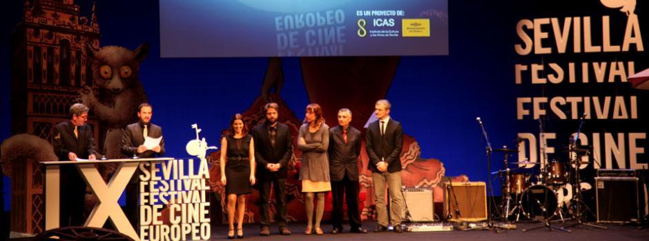 Gala Inaugural en el Lope de Vega. Jurado de la Sección Oficial