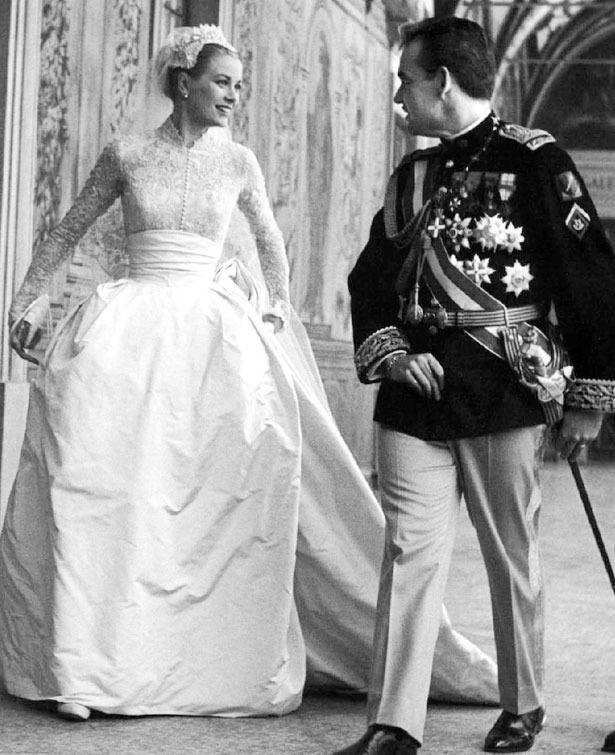 Rainiero y Grace Kelly