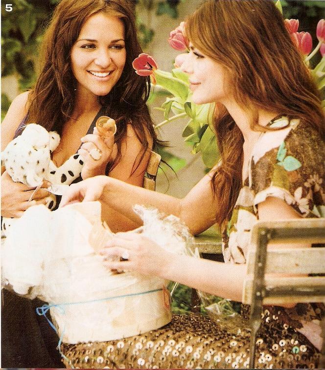 Paula Echevarria marcadora de tendencia organizó su Baby Shower publicado por Vogue4