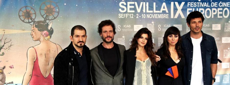 Photocall de la película inaugural - El equipo de FIN con Torregosa, Grau, Lago, Ruiz y Velencoso