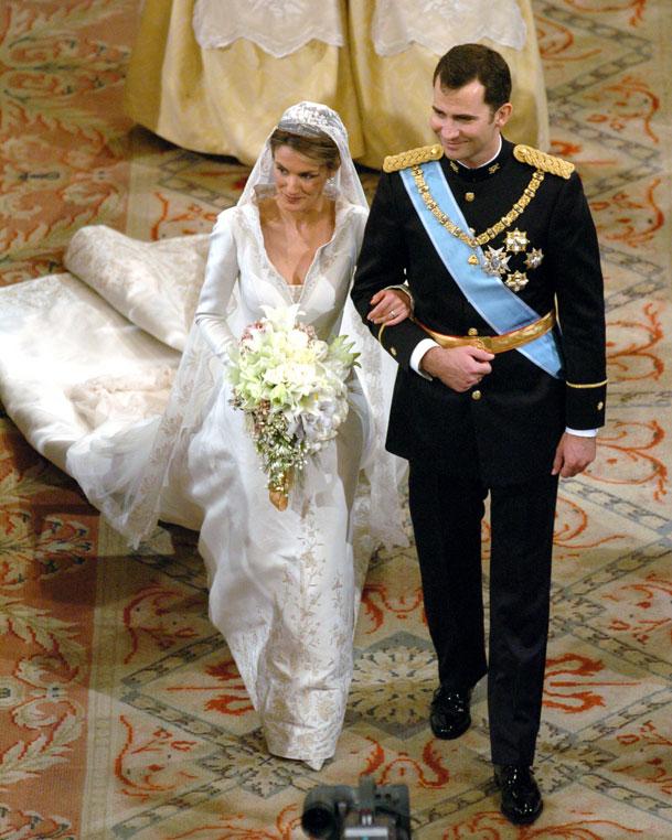 Boda Felipe y Letizia
