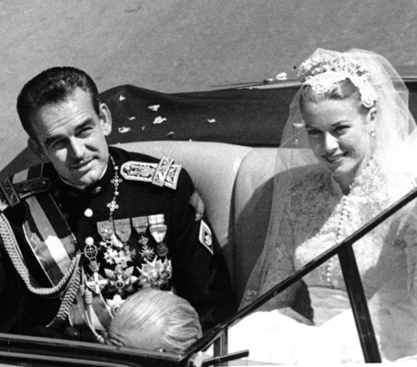 Rainiero y Grace Kelly