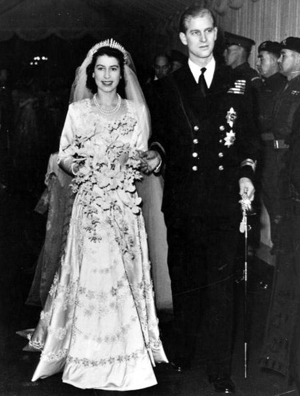 Boda Reina Isabel de Inglaterra