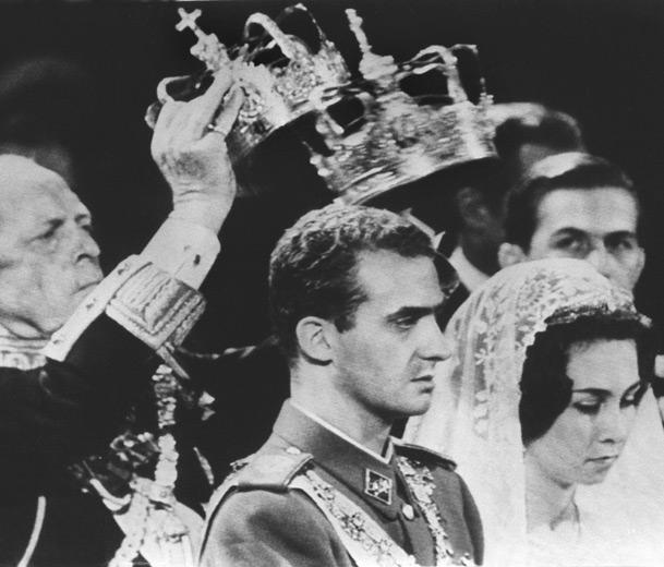 Boda Juan Carlos y Sofía