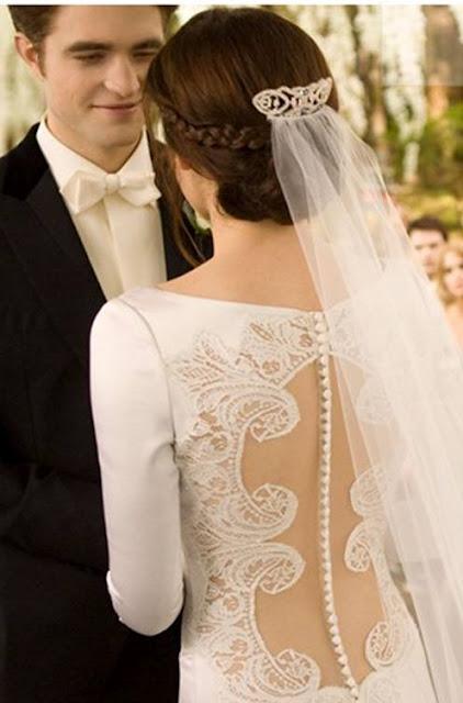 el vestido de novia de crepúsculo