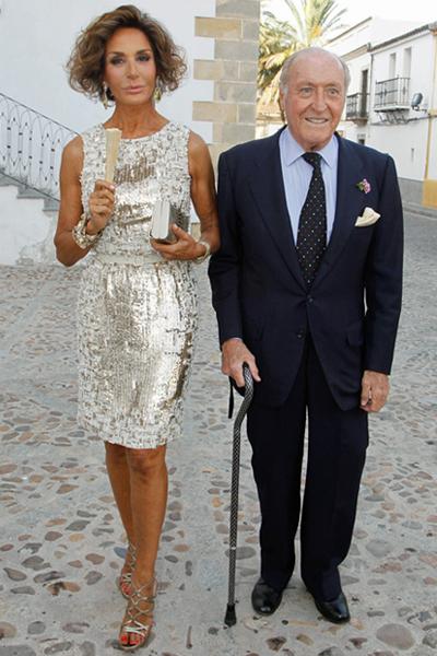 Nati Abascal y Tomás Terry
