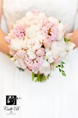 peonías rosas para bodas