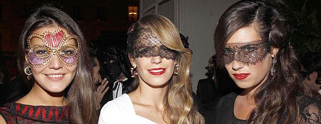 Vogue Paris celebra sus 90 años de vida con una espectacular fiesta de máscaras