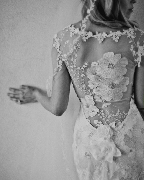 Azahar vestido de novia de Claire Pettibone por -Reflexiones de novia