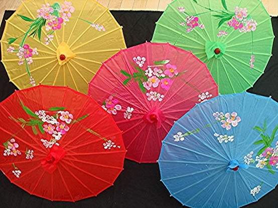 Parasol para regalar en bodas
