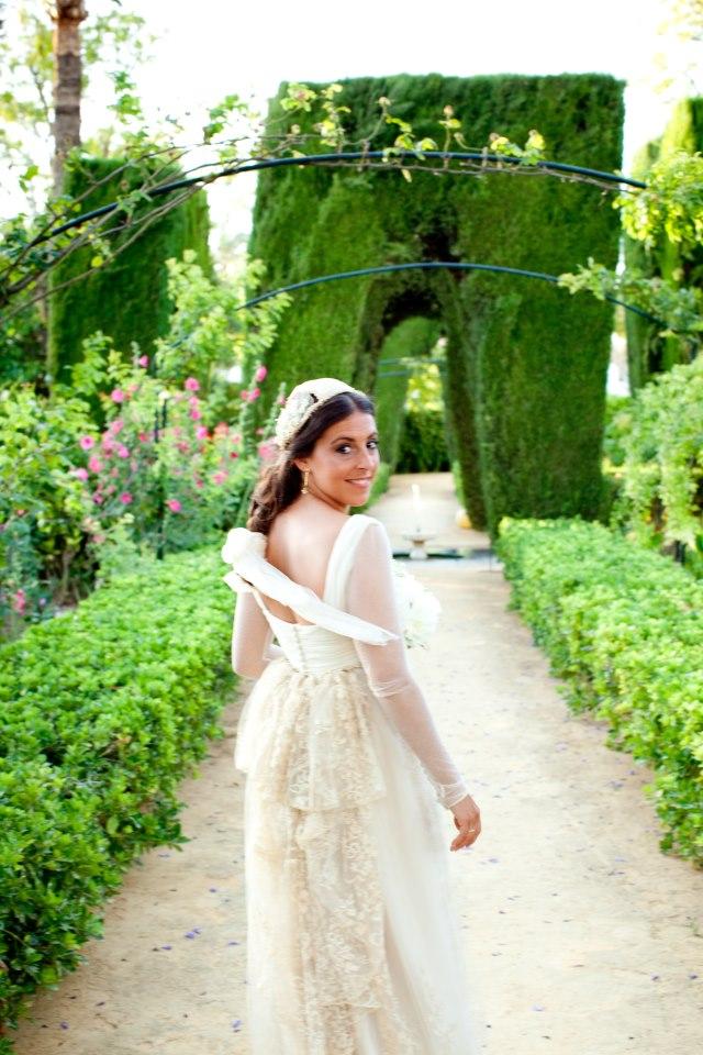 Vestido de novia - María Hernández Pazos