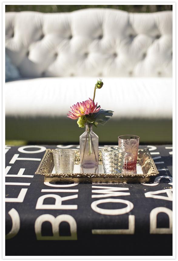 2 ideas para decorar boda aire libre vintage chic