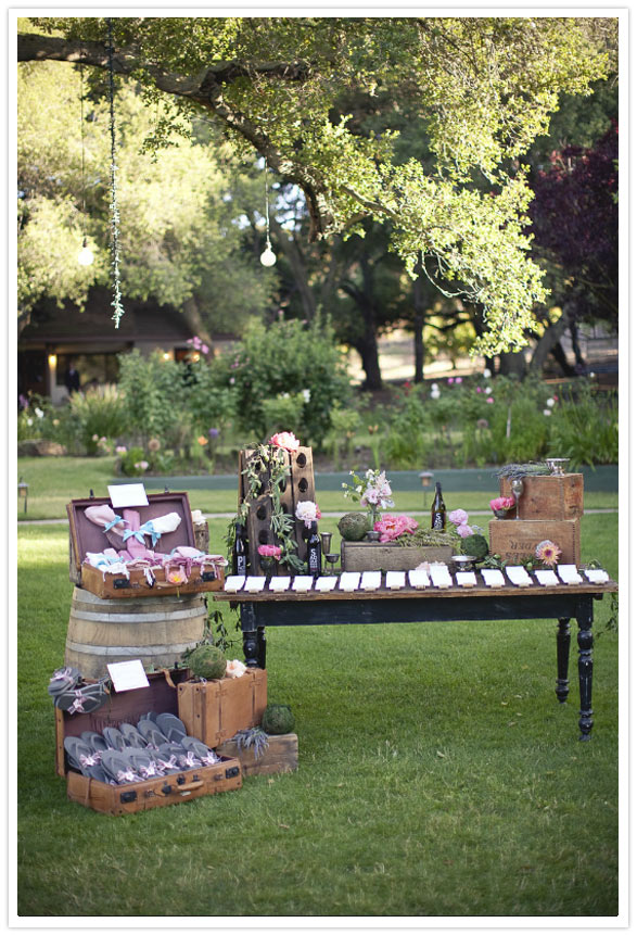 3 ideas para decorar boda aire libre vintage chic