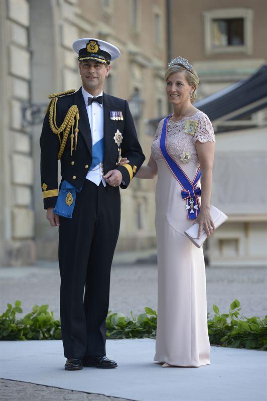 Príncipe Eduardo y Gräfin Sophie