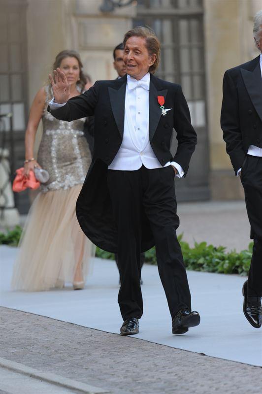 Valentino, el diseñador de moda