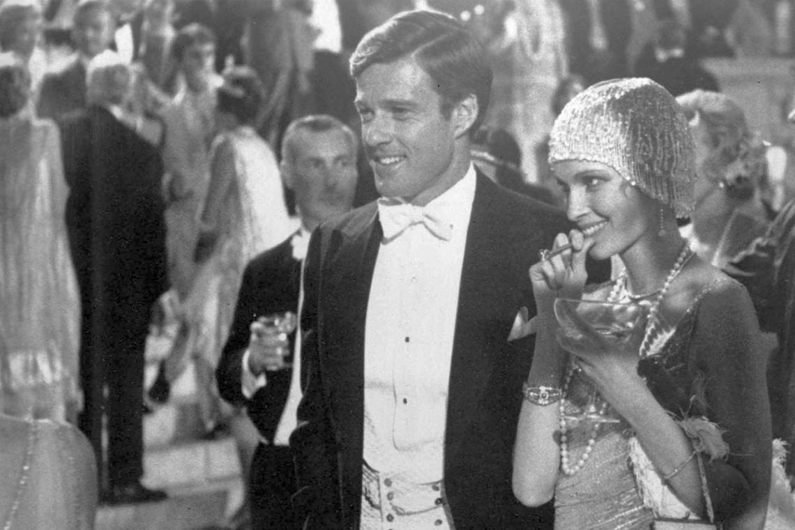 Imágenes de la película Gran Gatsby, como protagonista Robert Redford