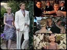 Imágenes de la película Gran Gatsby, como protagonista Leonardo DiCaprio