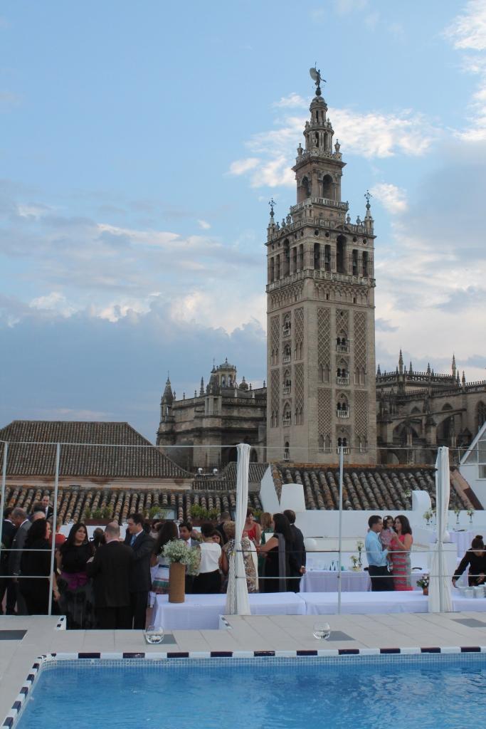 ¿ Qué os parece esta terraza para cualquier evento?