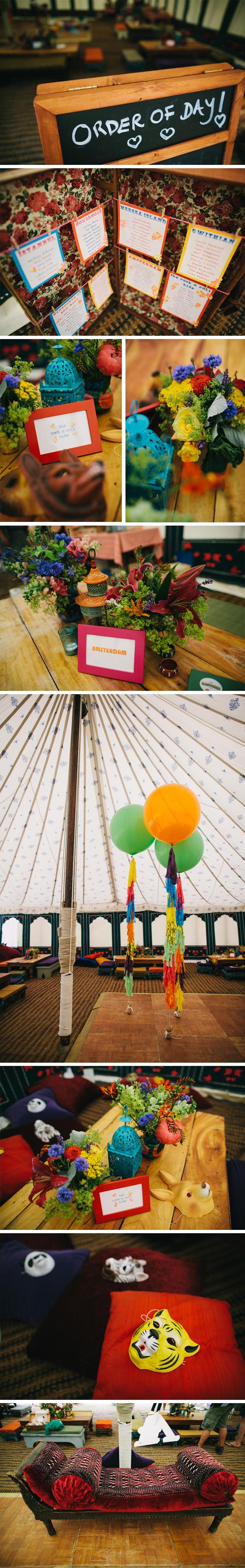 detalles bodas circo