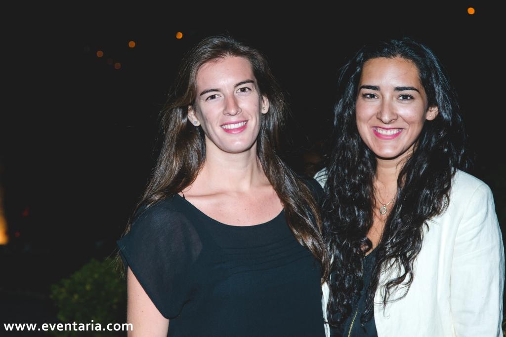 Carmen Polo y Blanca Argüeso
