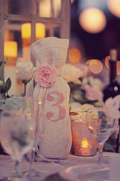 número de mesa bodas