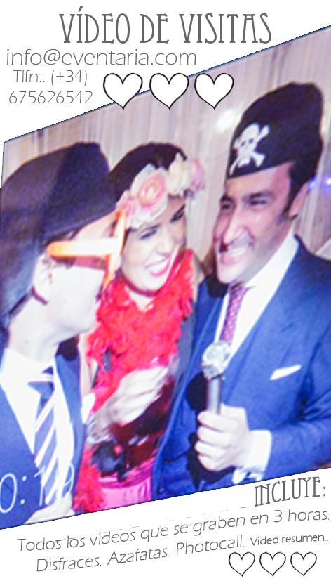 Vídeo de visitas boda Ana & Leo