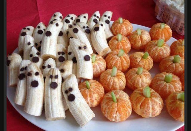 frutas halloween
