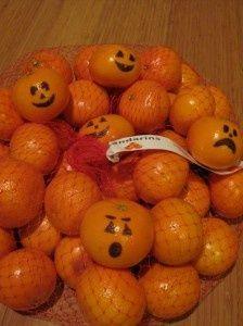 naranjas halloween