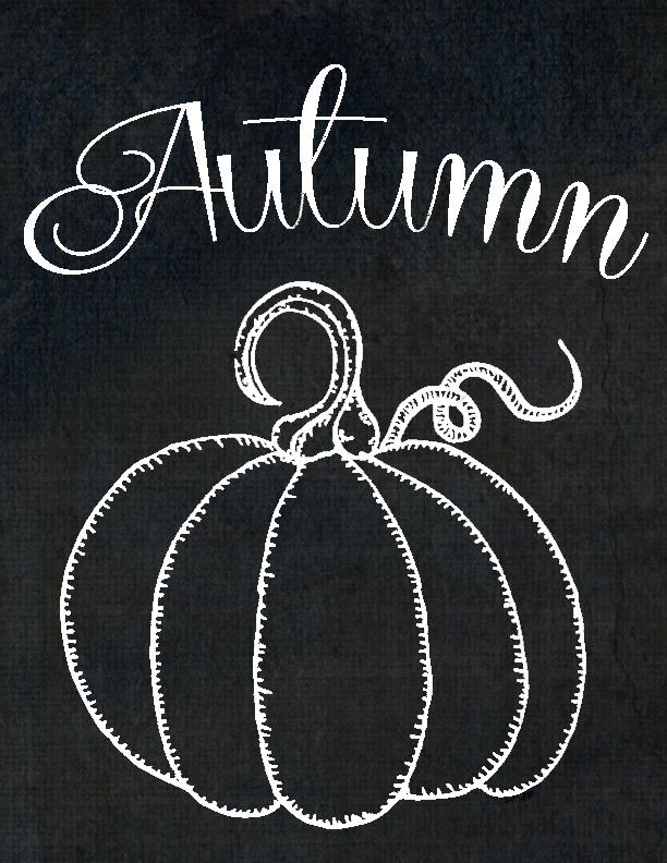 calabaza otoño