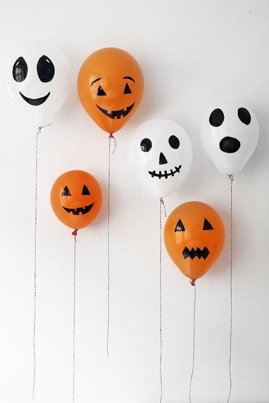 globos halloween