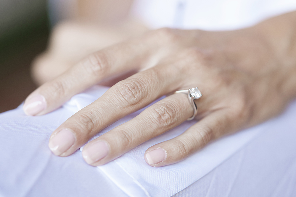 anillo de compromiso boda