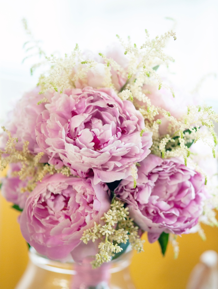 flowers wedding, peonias