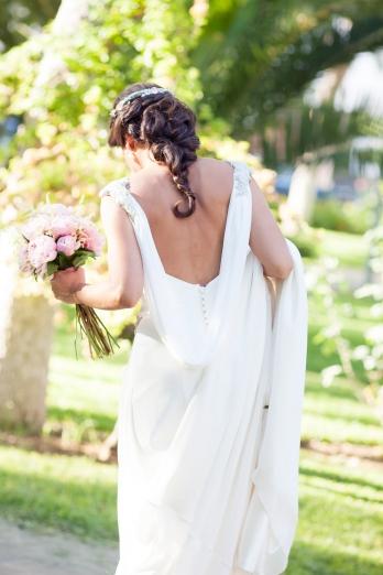 escote espalda dress bride