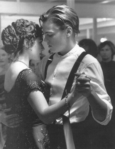baile con amor titanic