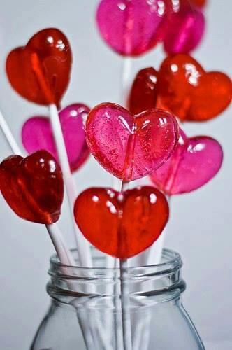 caramelos corazón