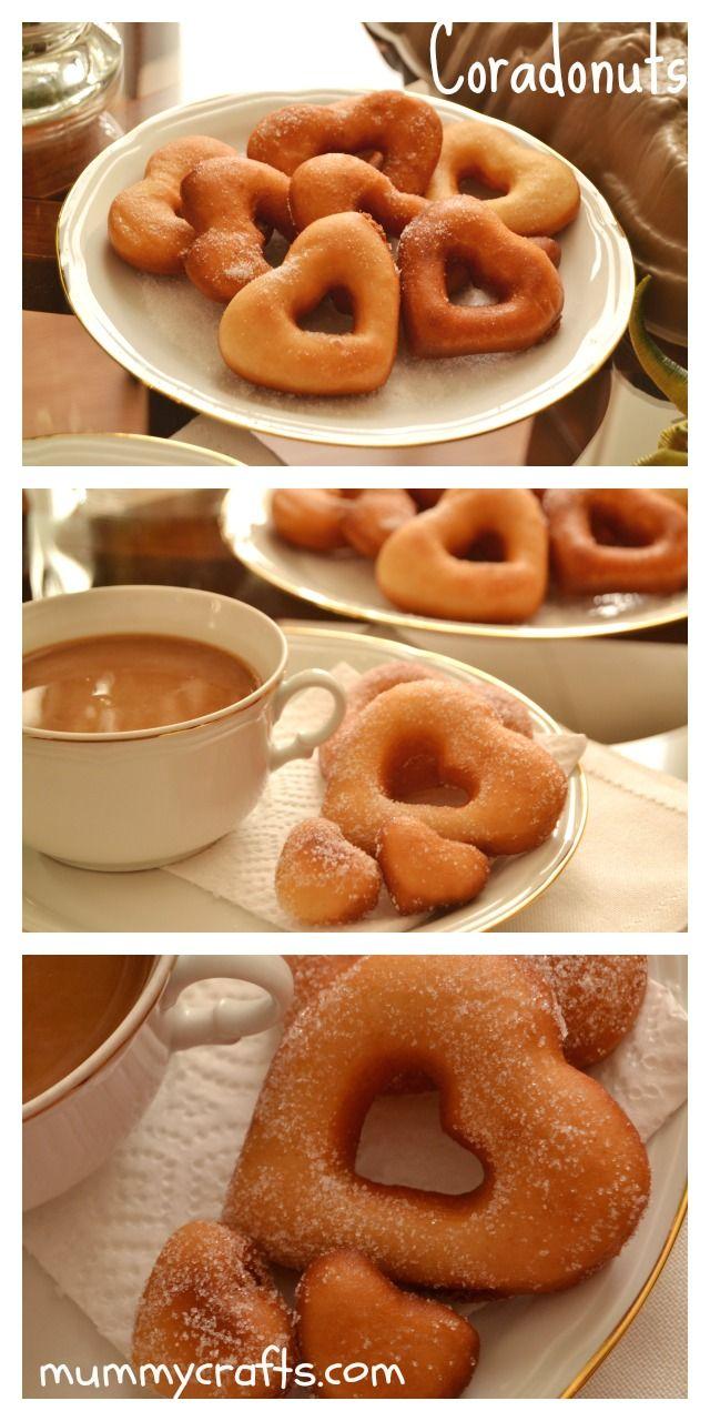 donuts con corazón